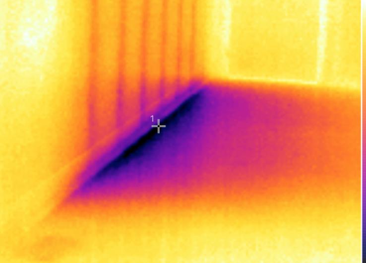Inspection de détection par thermographie. INSPECTIONEXPERT.